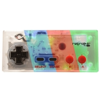 NES Style USB Controller for PC & Mac - Red/ Green/ Blue LED