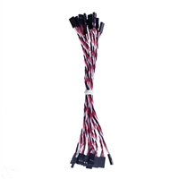OSEPP 3 Pin Jumper Cables - 10 Pack