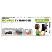 "Hangman S2040-A No Stud TV Hanger for TVs 26""-55"""