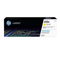 HP 410X LaserJet High Yield Yellow Toner Cartridge