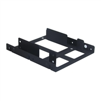 "Kingwin HDM-225 Internal 2.5"" to 3.5"" HDD Metal Mounting Kit Black"