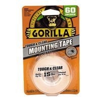 Gorilla Glue Gorilla Mounting Tape - 1in x 60in