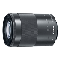 Canon EF-M 55-200mm f/4.5-6.3 IS STM Lens Black