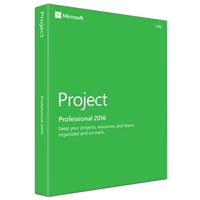 Microsoft Project Pro 2016 (Windows)