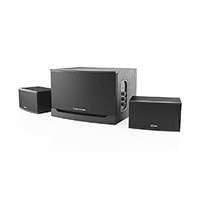 Thonet & Vander Laut 2.1 Wooden Multimedia Speaker System - Black