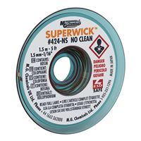 "MG Chemicals No-Clean Static Free Solder Wick - 5'x0.05"" #2 Yellow"