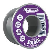 "MG Chemicals Sn63 / Pb37 No Clean Leaded Solder - 0.032"" Spool"