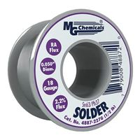 "MG Chemicals Sn63 / Pb37 Leaded Solder - 0.05"" Spool"
