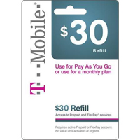 InComm T-Mobile $30 Refill Card