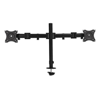 "SIIG CE-MT1822-S1 Dual Arm Desk Mount for Monitors 13""-27"""