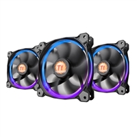 Thermaltake Riing 12 RGB Hydraulic Bearing 120mm Case Fan - Triple Pack