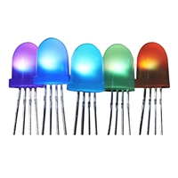 Adafruit Industries NeoPixel Diffused 8mm Through-Hole LED - 5 Pack