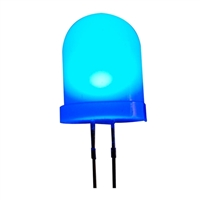 Adafruit Industries Diffused Blue 10mm LED - 25 Pack