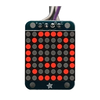 Adafruit Industries Mini 8x8 LED Matrix w/I2C Backpack - Red