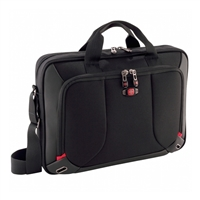 "Wenger Platform Laptop Briefcase Fits Screens up to 16"" - Black"