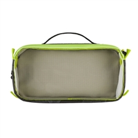 Tenba Cable Duo 4 Cable Pouch - Black Camouflage/Lime