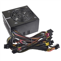 Photo - EVGA 500 Watt 80 Plus ATX Power Supply