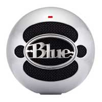 Blue Microphones Snowball USB Condenser Microphone - Silver