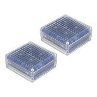 Dot Line Silica Gel Microwavable 2pack