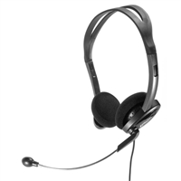 Spracht ZuM 3500 USB/3.5 Stereo Headset - Black