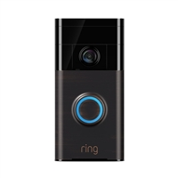 Ring Doorbell Security Camera - Bronze