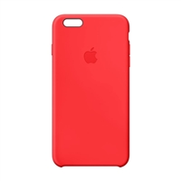 Apple Leather Case for iPhone 6S - Red