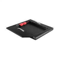 Vantec SSD/HDD Aluminum Caddy for 9.5mm ODD Laptop Drive Bay