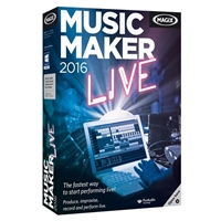 Magix Entertainment Music Maker Live 2016