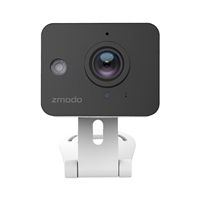 Zmodo Zmodo ZM-SH75D001-WA 720p HD Mini WiFi Camera with Two-Way Audio and Remote Monitoring