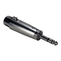 "QVS XLR Female to 1/4"" Male Audio Adapter"
