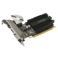 Zotac GeForce GT 710 Low-Profile 1GB DDR3 PCIe Video Card