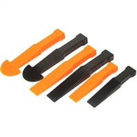 Titan Tools Multi Wedge Trim Panel Pry Tool Set - 6 piece