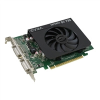 EVGA GeForce GT 730 Single-Fan 4GB DDR3 PCIe Video Card
