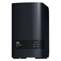 WD My Cloud EX2 Ultra 2-Bay Diskless Network Attached Storage (NAS)