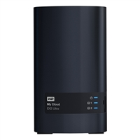 WD My Cloud EX2 Ultra 8TB 2-Bay Network Attached Storage (NAS) - Charcoal Gray