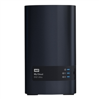 WD My Cloud EX2 Ultra 12TB 2-Bay Network Attached Storage (NAS) - Charcoal Gray