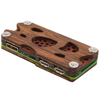C4Labs Nucleus Zero for Raspberry Pi Zero - Wood