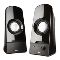 Cyber Acoustics CA-2050 Curve.Sonic Powered Speaker System
