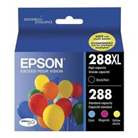 Epson 288XL High Capacity Black and Color Ink Cartridge Combo Pack