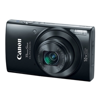 Canon ELPH 190 IS 20 Megapixel Digital Camera - Black