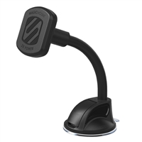 Scosche Industries MagicMount Suction Magnetic Dashboard/ Windshield Phone Mount XL - Black