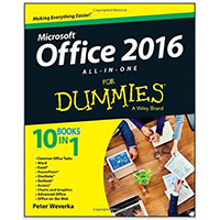 Wiley Office 2016 All-In-One For Dummies