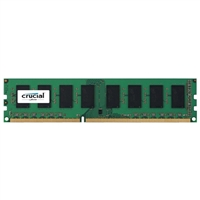 Crucial 8GB DDR3L-1600 PC3-12800 CL11 Single Channel Desktop Memory Module - Green