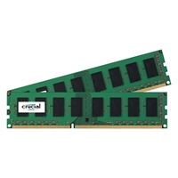 Crucial 16GB 2 x 8GB DDR3L-1600 UDIMM PC3L-12800 CL11 Dual Channel Desktop Memory Kit