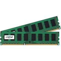 Crucial 8GB 2 x 4GB DDR3L-1600 PC3L-12800 CL11 Dual Channel Desktop Memory Kit