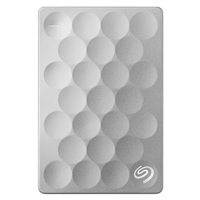 "Seagate Backup Plus Slim Ultra 2TB USB 3.0 2.5"" Portable External Hard Drive - Platinum"