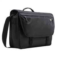 "Case Logic Bryker Messenger Bag Fits Screens up to 14"" - Black"
