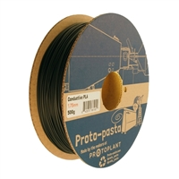 Proto-Pasta 1.75mm Electrically Conductive Carbon PLA Composite 3D Printer Filament - 0.5kg Spool (1.1 lbs)