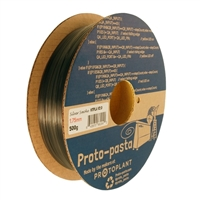 Proto-Pasta 1.75mm Silver Smoke PLA 3D Printer Filament - 0.5kg Spool (1.1 lbs)
