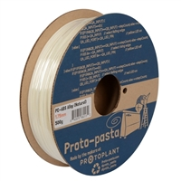 Proto-Pasta 1.75mm Natural ABS 3D Printer Filament - 0.5kg Spool (1.1 lbs)